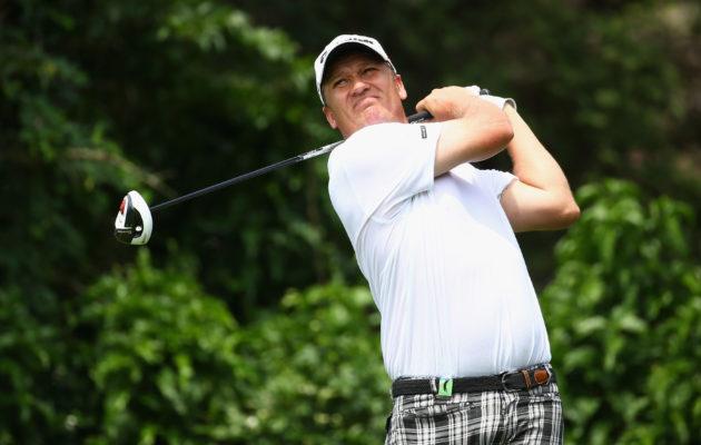 Jarmo Sandelin kirjoittaa blogissaan heräävänsä joka aamu miettien, mitä asioita hän päivän aikana golfaamisensa eteen kehittää. Kuva:Getty Images)