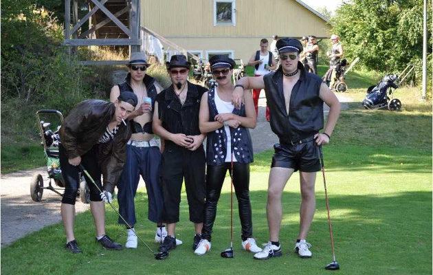 Nämä miehet tapaavat toisensa vuosittain erilaisen golfkilpailun merkeissä.