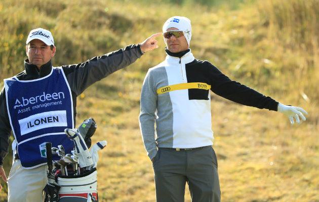 Mikko Ilonen käytti toisella kierroksella yhdeksän lyöntiä avauspäivää enemmän. Hän on kuitenkin kisan puolivälissä mukavissa asemissa. Kuva: Getty Images