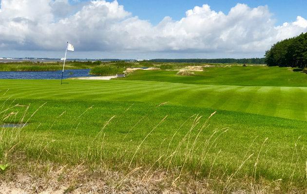 Pärnu Bay Golf Links on saaanut mukavasti kansainvälistäkin huomiota.