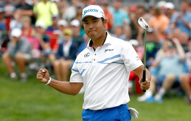 Hideki Matsuyaman loppukiihdytys oli muille liikaa Ohiossa pelatussa turnauksessa. Kuva: Getty Images