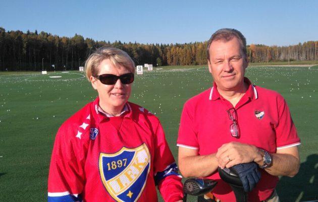 Hanna Teerijoki on pelannut IFK:ssa jääpalloa ja voittanut seuran riveissä kaksi mestaruutta. IFK:n puheenjohtajan Rene Östermanin kotiseura on Kurk Golf.