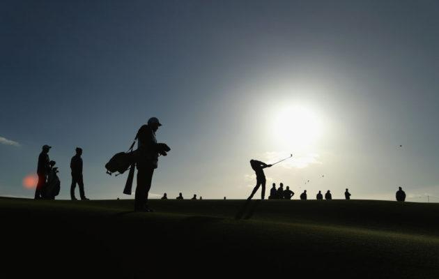 Golfin harrastajamäärä on kääntynyt laskuun Skotlannissa. Kuva: Getty Images