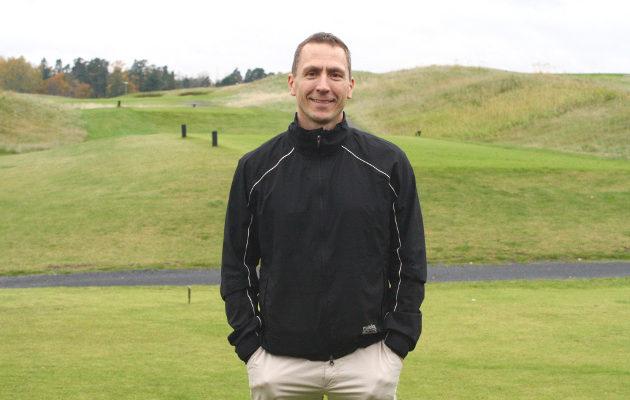 Harri Mankki on järjestyksessään viides Vuosaari Golfin toimitusjohtaja. Kuva: VGH
