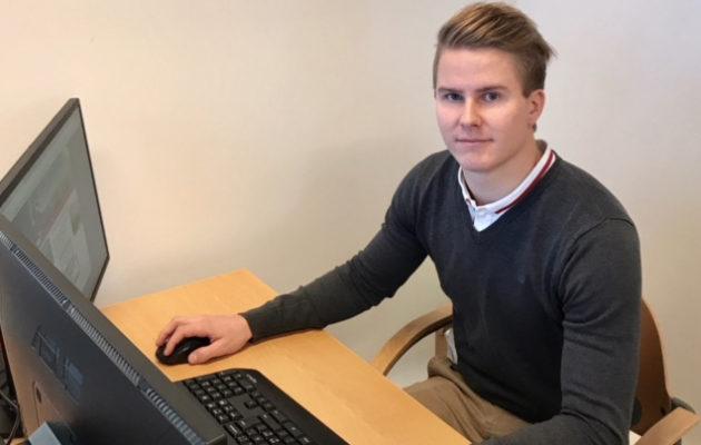 Sami Varelius tuo uusia, nuorekkaita tuulia Vihti Golfin toimintaan.