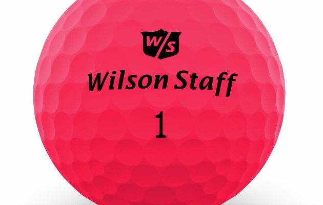 Wilson Staff DX2 Optix kilpailee ilmeellään muun muassa väripalloistaan tunnetun Volvikin kanssa: Kuva: Wilson Staff