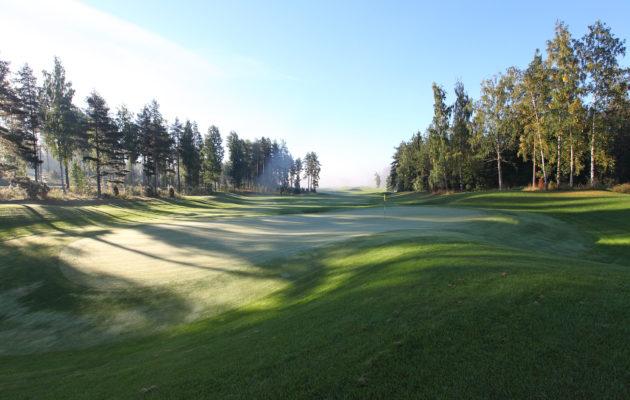 Linna Golfin tavoitteena on avata kenttä keväällä mahdollisimman aikaisin ja hyvässä kunnossa.