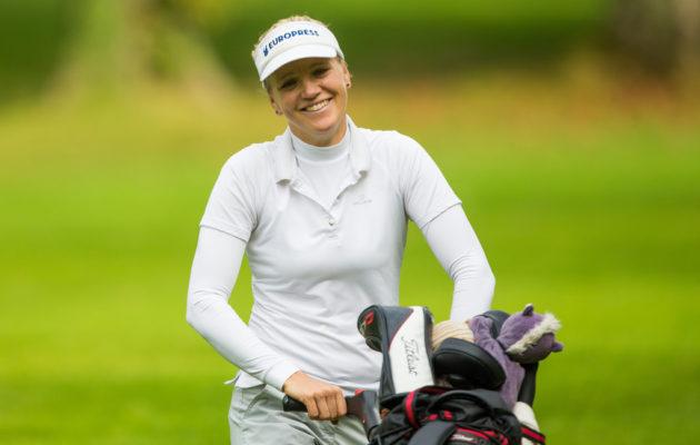 Ursula Wikström saavutti ensimmäisen kuudesta LET:n kakkossijastaan jo Talissa elokuussa 2005. Lauantaina on voiton lisäksi kiihokkeena paikka Ranskassa pelattavaan majoriin. Kuva: Tristan Jones/LET
