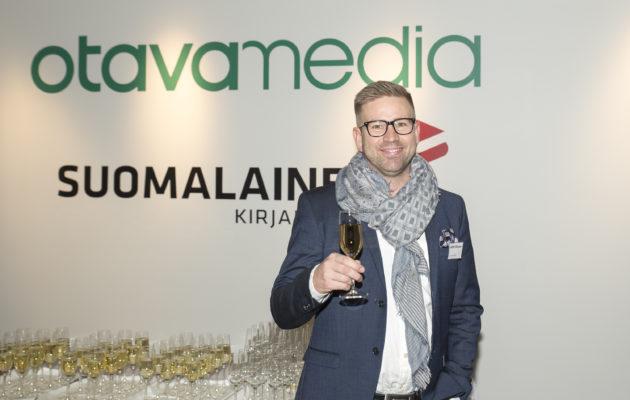 Antti Hiltunen osallistui torstaina Pasilassa Kenttärankingin julkistamistilaisuuteen.