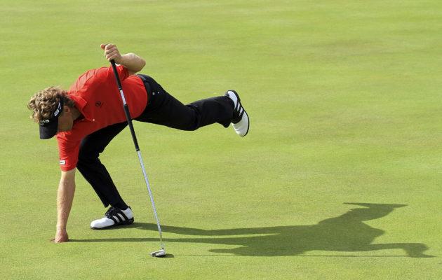 Bernhard Langerin taivutus PGA Tour Champions -kiertueen kokonaiskilpailussa ei riittänyt tällä kertaa kakkossijaa parempaan suoritukseen. Kuva: Getty Images