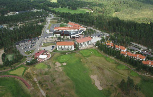 Vierumäen viikko-osakekohde tunnetaan nyt nimellä Holiday Club Vierumäki Golf Resort. Kuva: Holiday Club