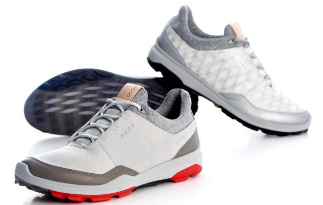 Ecco odottaa uudesta pehmeäkauluksisesta Biom Hybrid 3 -kengästä menestystarinaa. Kuva: Ecco Golf