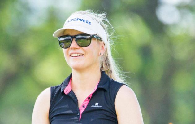 Ursula Wikström oli torstain kierroksen paras suomalainen. Kuva: Tristan Jones/LET