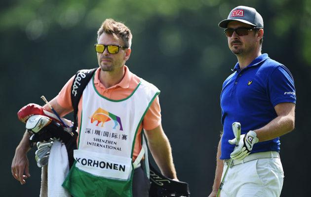 Mikko Korhosen oikea käsi, caddie Karri Kakko, valottaa jatkossa tour-elämää Golfpisteen ja Golflehden lukijoille. Kuva: Getty Images.