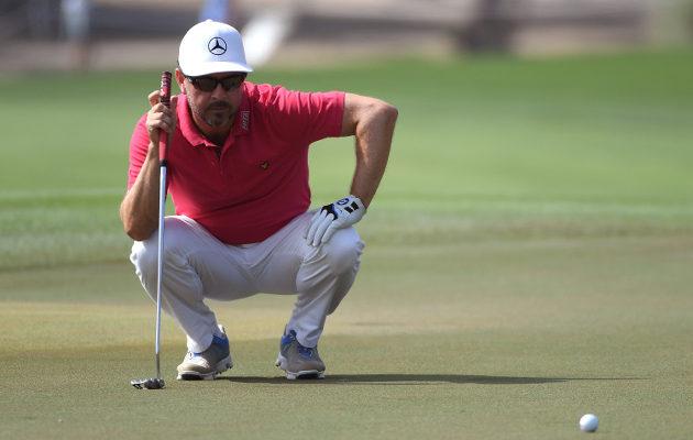 Maanantaina syntymäpäiviään viettänyt Mikko  Korhonen sai mieluisan syntymäpäivälahjan US PGA:lta. Kuva: Getty Images.