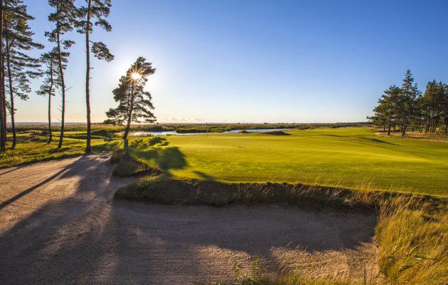 Pärnu Bay on Golf Digestin listalla Viron ykköskenttä. Kuva Lassi Pekka Tilander