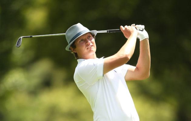 Tapio Pulkkasen kasvot tulevat golfia seuraaville tutuiksi mainoskampanjoiden kautta myös muualla kuin Euroopassa. Kuva: Getty Images)