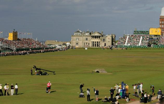 Maailman merkittävimmäksi golfkilpailuksi mainittu Open Championship palaa näihin maisemiin heinäkuussa 2021. Kuva: Getty Images