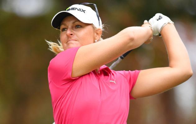 Anna Nordqvist on yksi suurimmista pohjoismaalaisista menestystoivoista Thaimaan LPGA-kilpailussa. Kuva: Getty Images