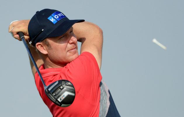 Mikko Ilonen oli tyytyväinen päivän esitykseensä NBO Oman Openissa. Kuva: Getty Images