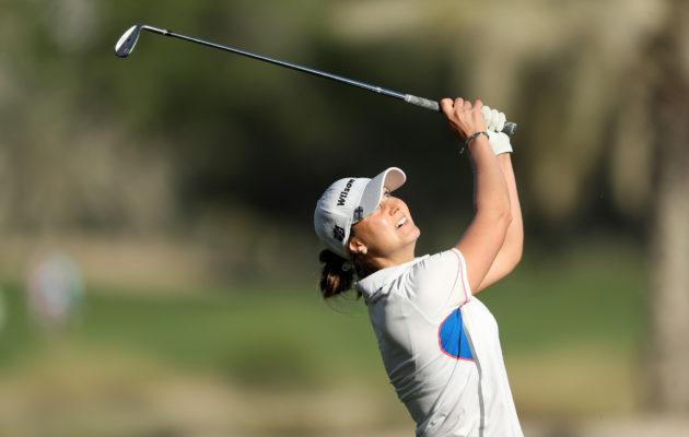 Sanna Nuutinen pelaa loistavaa turnausta Cape Townissa. Kuva: Getty Images