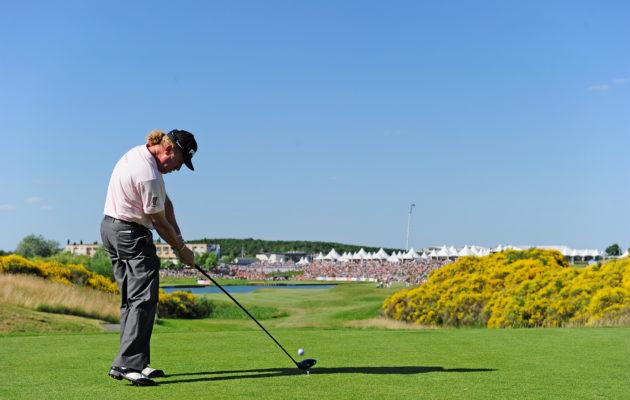 Le Golf Nationalin 18:s avaus ja lähestyminen ovat vuosikausia olleet ET:n dramaaattisimpia lyöntejä. Kuva:Getty Images)