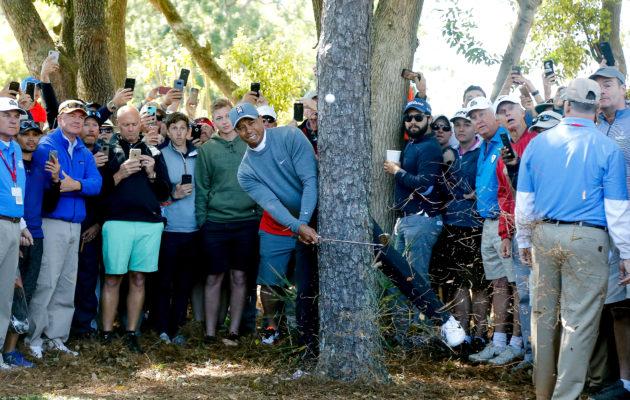 Tiger Woodsin kapteenin roolista tehtiin oletettavasti päätös jo ennen hänen nousuaan potentiaaliseksi ehdokkaaksi joukkueen pelaajaksi. Kuva: Getty Images)
