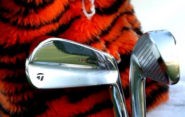 Mallille uskollinen. Tigerin uudet Phase 1 -raudat tuovat mieleen hänen aikaisemmat työkalunsa, Kuva: Getty Images