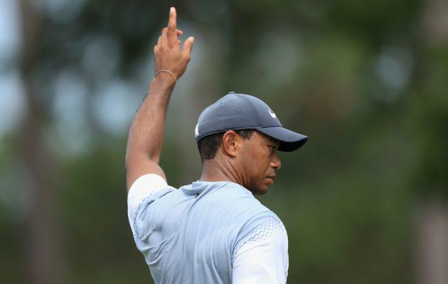 Tiger Woodsin kommentit kiinnostavat mediaa ja yleisöä tuloksesta riippumatta.  Kuva: Getty Images