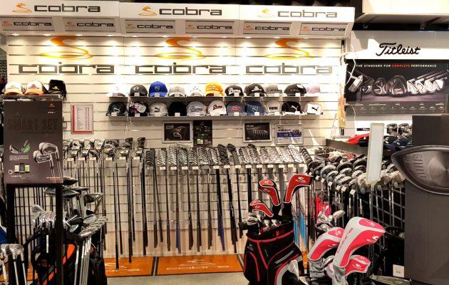 Golfliikkeiden tuotevalikoimat ovat keväällä parhaimmillaan. Golf Balancen hyllyt notkuivat toukokuun toisella viikolla uutuksista.