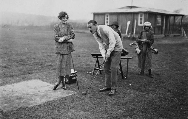 Le Touquet Ranskassa veti puoleensa golfmatkailijoita jo 1920-luvun puolivälissä. Kuva © Getty Images