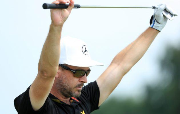 Mikko Korhonen otti uransa ensimmäisen voiton pääkiertueella Shot Clock Mastersissa Itävallassa. Getty Images