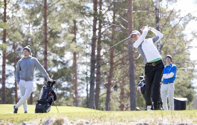Aleksi Myllymäki on yksi kilpailun suurimmista ennakkosuosikeista. Kuva Juha Hakulinen.