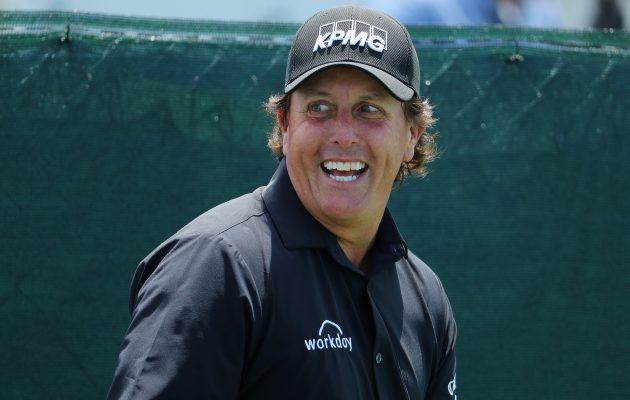 Phil Mickelsonin kenraaliharjoitus tuotti  tuloksen 65 St.Jude Fedex Classicin finaalikierroksella. Kuva Getty Images