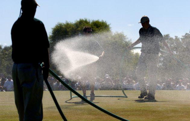 Ruiskumestareilla riitti kiirettä US Openin historian suurimman virhearvioinnin seurauksena. Kuva: Getty Images