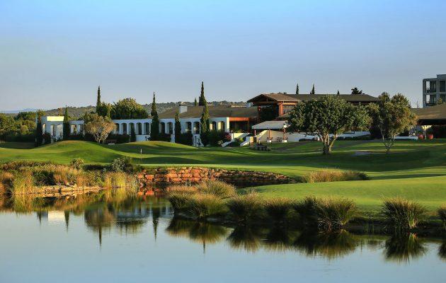 Victoria Golf Coursen päätösreikä.