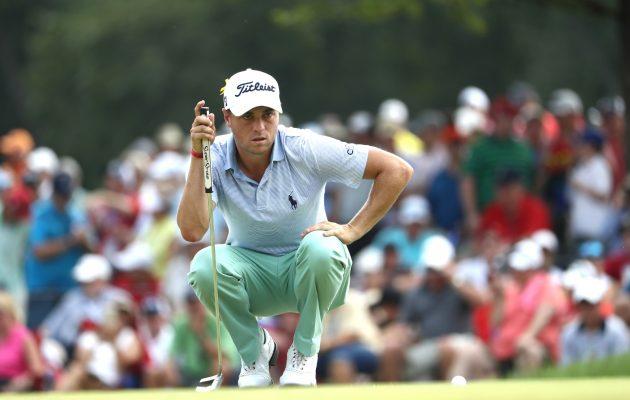 Justin Thomas debytoi Le Golf National -kentällä Pariisisssa pelattavassa haasteottelussa. Kuva: Getty Images