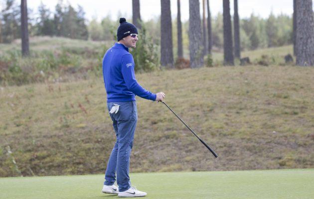 Roope Kakon putti toimi perjantain kierroksella. Kuva Juha Hakulinen.