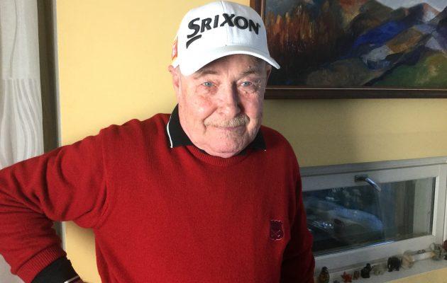 Kalevi Tellqvist aloitti 47-vuotiaana golfin parissa uuden työuran, joka jatkuu edelleen.