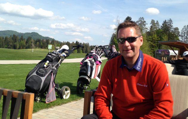 Timo Ikonen on elättänyt itsensä golfvälinekaupalla lähes neljännesvuosisadan ajan.