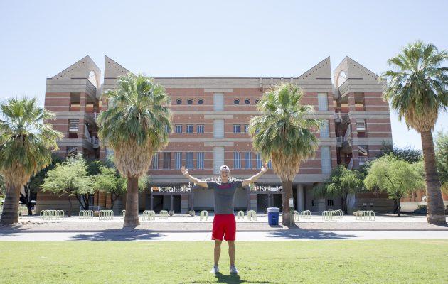 University of Arizonan kampuksella riittää kokoa. Kuva Juha Hakulinen.