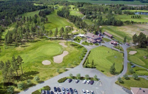 Kankaisten Golfpuistossa on viime vuonna valmistuneen kenttälaajennuksen jälkeen vuorossa klubitalon laajennustyö. Kuva: Kankaisten Golfpuisto