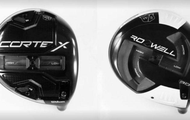 Driver vs. Driver 2 -suunnittelukilpailun finaaliin valikoituivat Cortex- ja Rozwell-draiverit. Näyttökuva/Wilson Golf