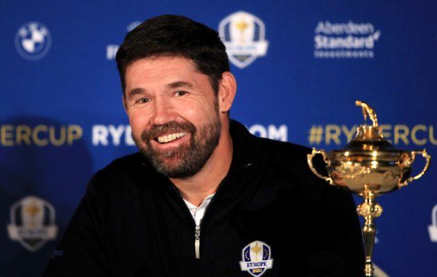 Padraig Harrington valittiin odotetusti Euroopan joukkueen kapteeniksi vuoden 2020 Ryder Cupiin. Kuva: Getty Images