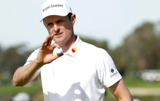 Justin Rose tavoittelee sunnuntaina uransa kymmenettä voittoa PGA Tourilla. Kuva: Getty Images