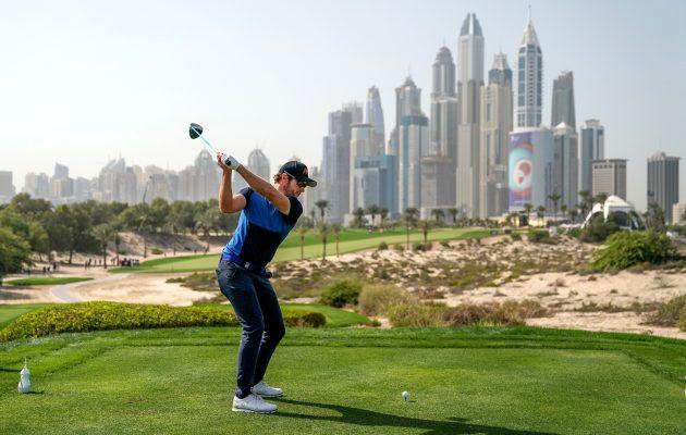 Kalle Samooja pelasi Dubaissa mainion turnauksen, vaikka ei ollut aivan liekeissä finaalikierroksella. Kuva: Getty Images