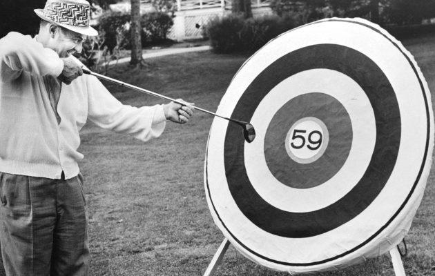 Golf Science Journalissa julkaistu tutkimus paljastaa, että suurimmalla osalla pelaajista olisi aihetta ottaa käyttöön uudenlaiset tähtäysrutiinit. Kuva: Getty Images