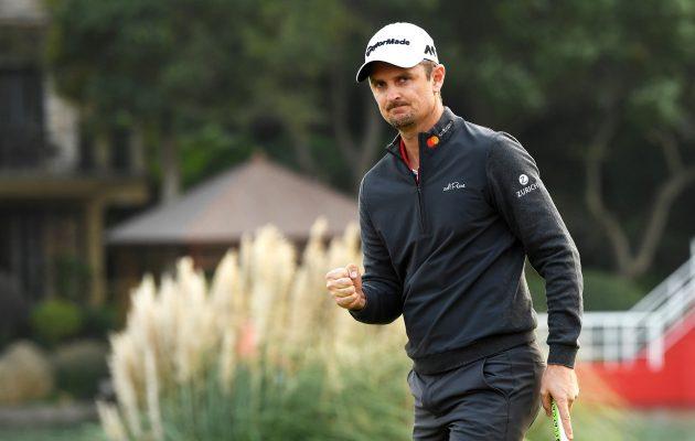Suurin osa Justin Rosen välineistä tulee jatkossa japanilaisen Honma Golfin tehtaalta. Kuva: Getty Images