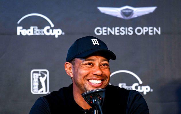 Tiger Woods ei ennättänyt torstaina kentälle lainkaan. Kuva: Getty Images