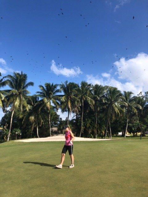Vuoden ensimmäinen kierros Palm Beach Nationalissa